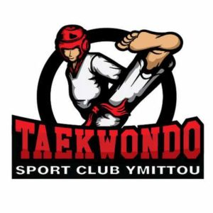 THIS IS TAEKWONDO SPORTS CLUB LOGO