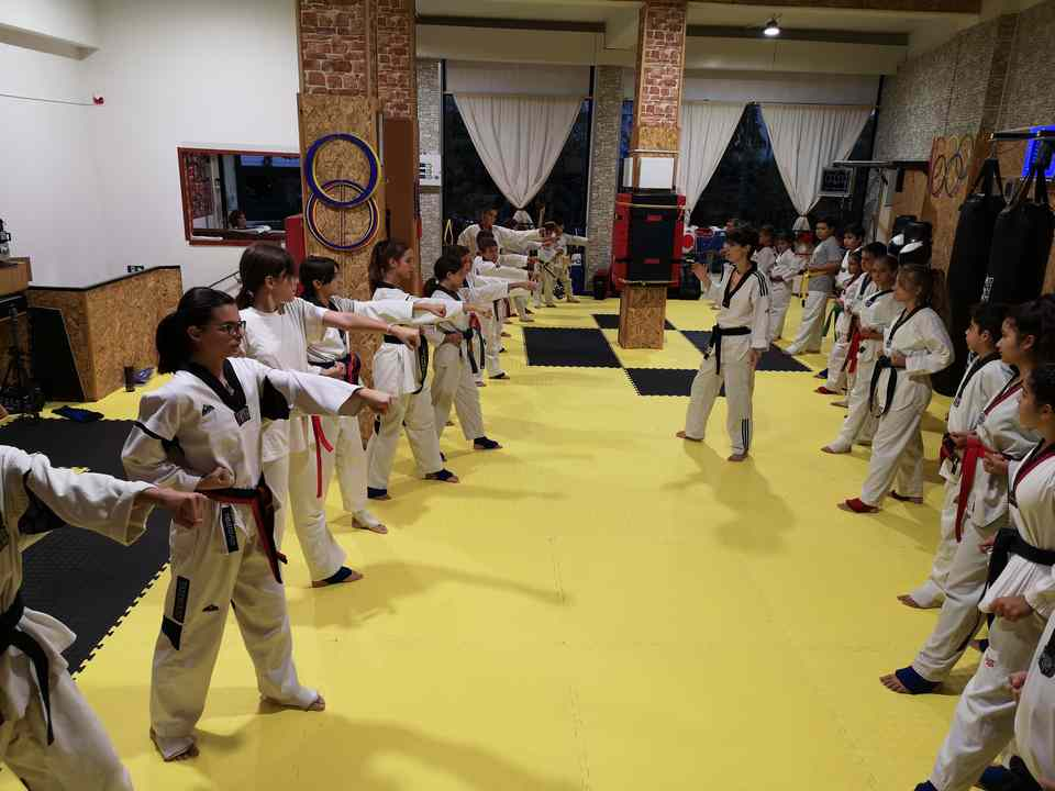 TAEKWONDO ATHENS GALLERY having the first taining 2019