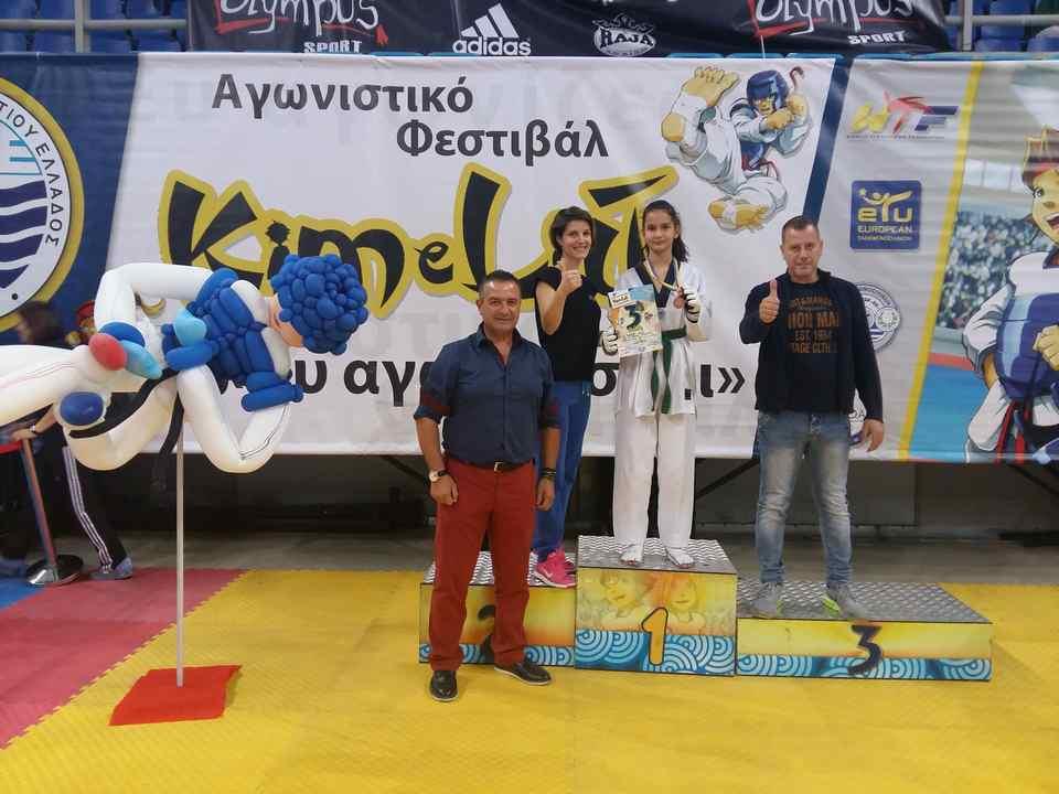 athlete win in championship